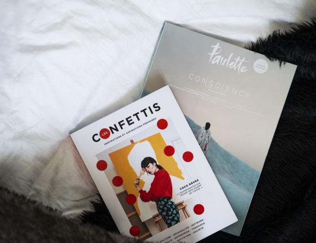 photo, magazines, Confettis, Paulette, découvertes, lifestyle, tea & poppies