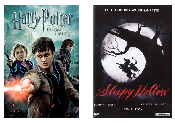 Films, Harry Potter, Sleepy Hollow