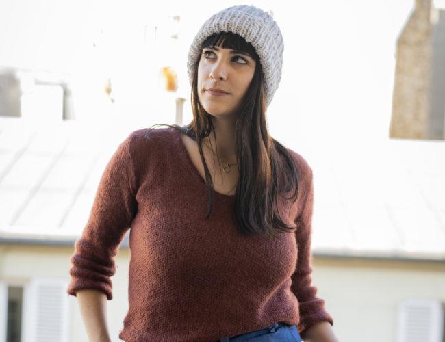 photo, bonnet à tricoit, tuto tricot, DIY tricot, DIY bonnet