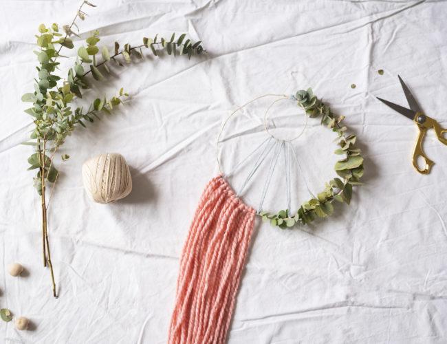Diy tissage vegetal Tea&Poppies