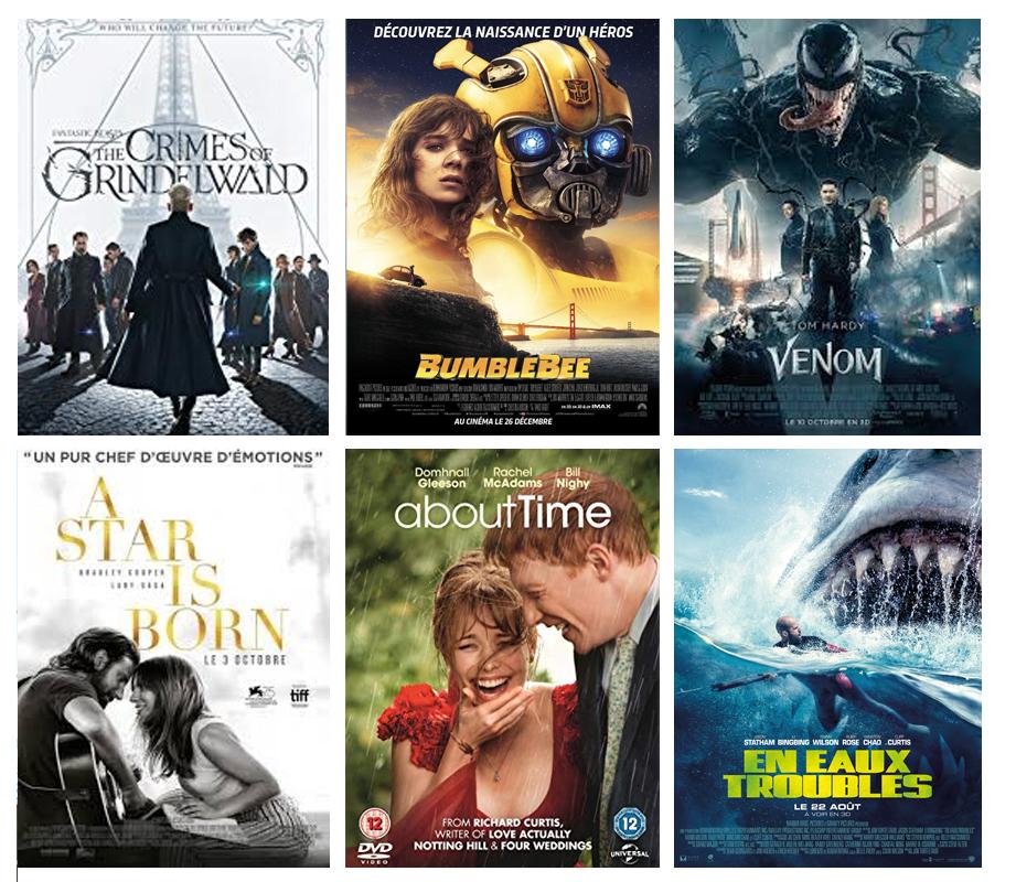 découverte, affiches, films
