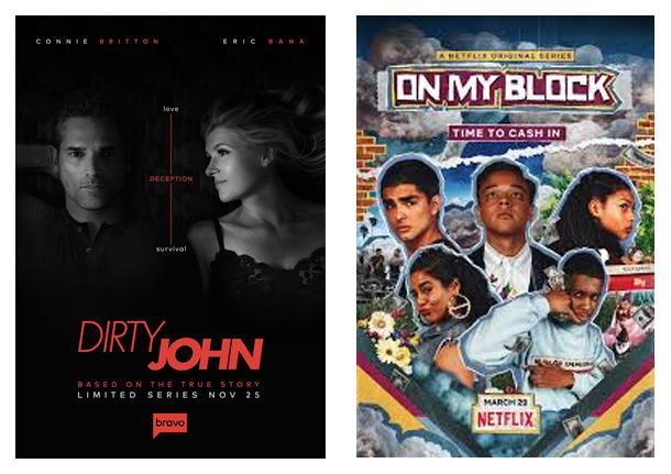 Affiche, série, Netflix, découvertes, Dirty John, On my Block