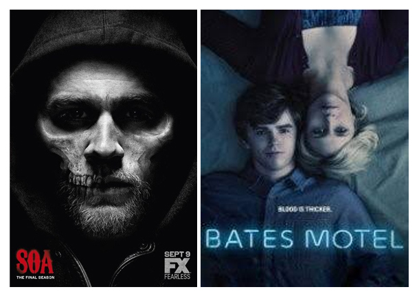 mars 2019, découvertes, séries, SOA, Bates Motel