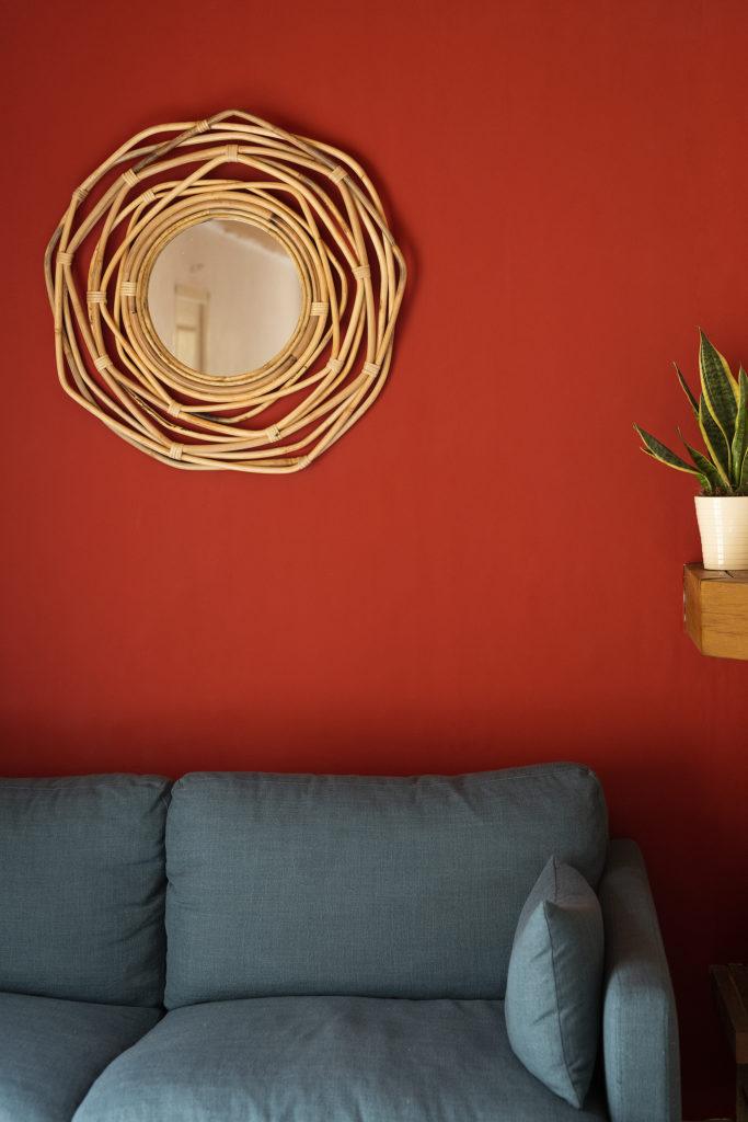 Photo, déco, maison, accessoire, miroir, aménager un coin salon, décorer son salon