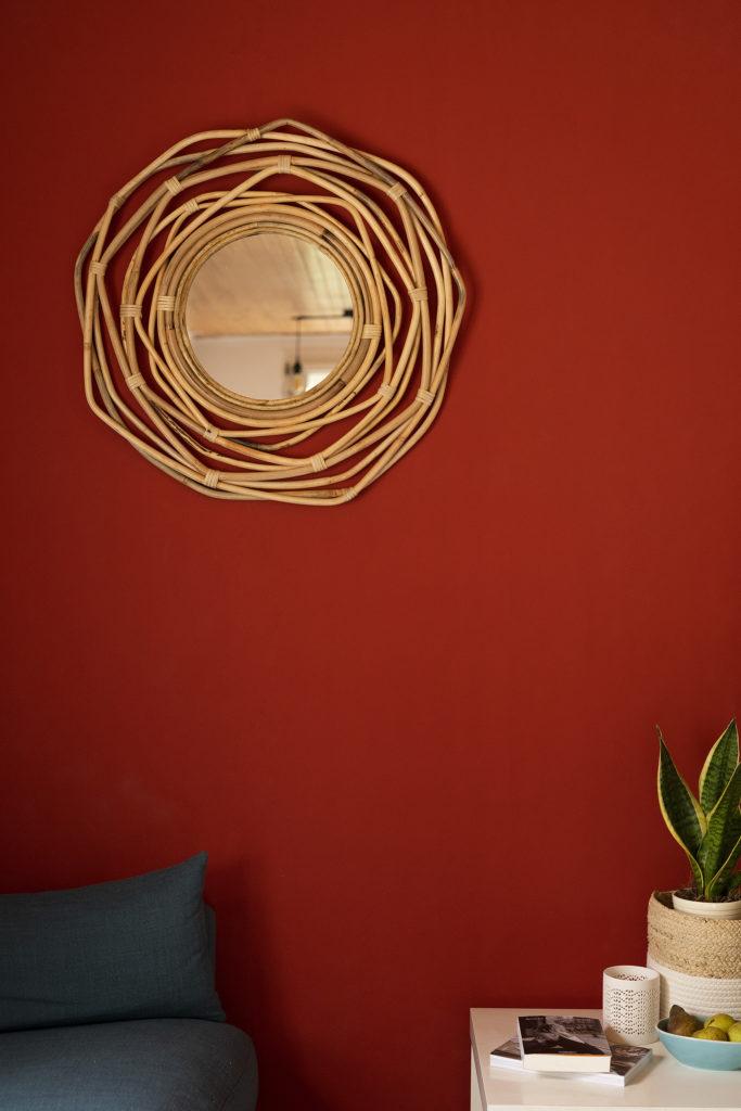 Photo, décoration, accessoire, miroir, aménager un coin salon, décorer son salon