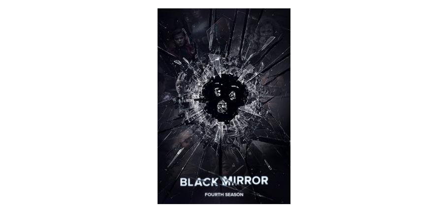 série, black mirror, affiche