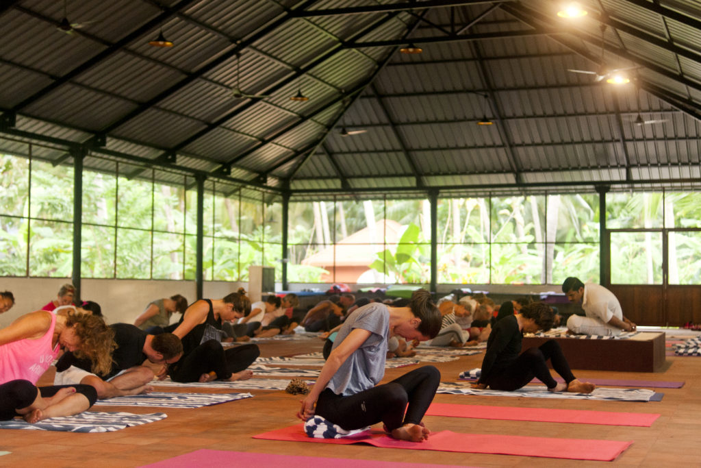 photo, cendre ayurvédique, espace yoga