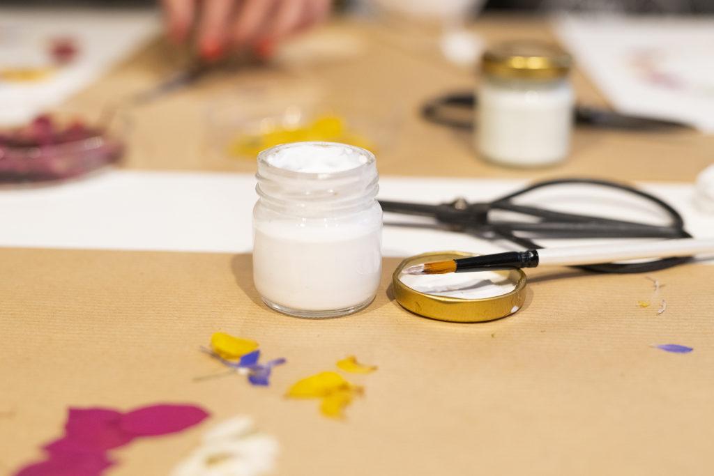 photo, carde floral, atelier, DIY, Herbarium