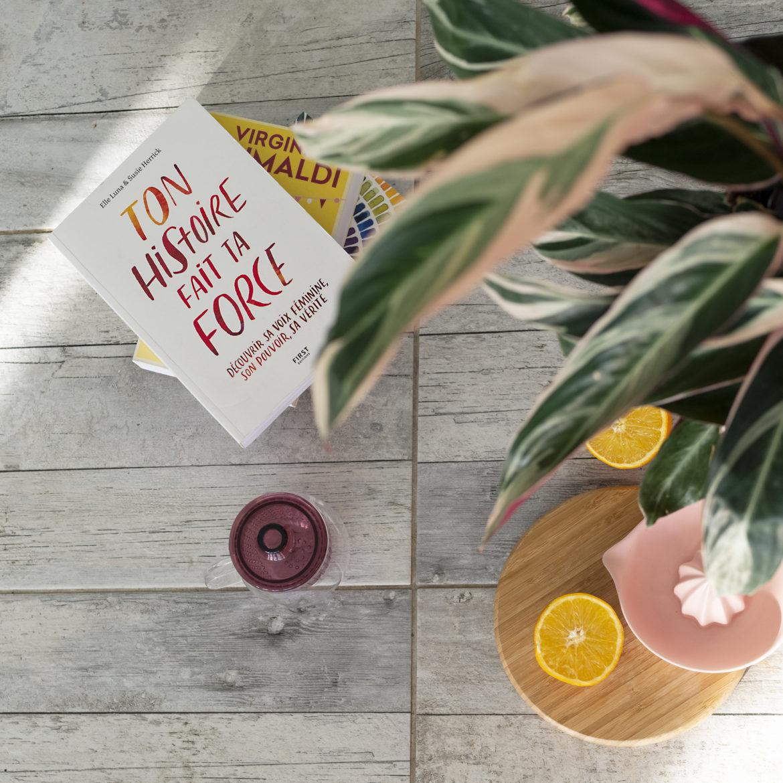 Photo, livre, Ton histoire fait ta force, plante, lifestyle