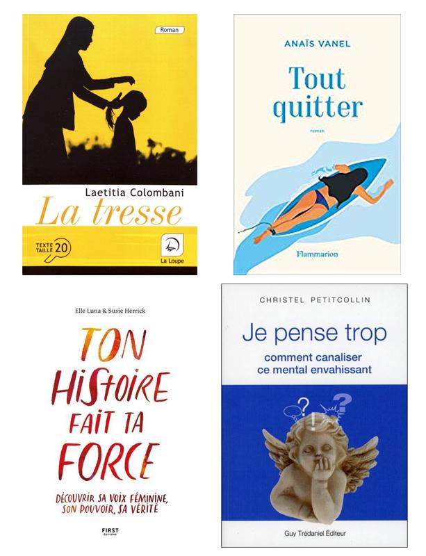 couvertures, livres, automne 2019, lecture