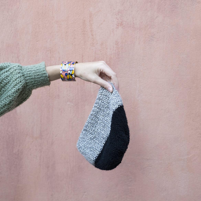 photo, tricot, DIY, bonnet pour homme, commnet tricoter un bonnet pour homme, point de riz