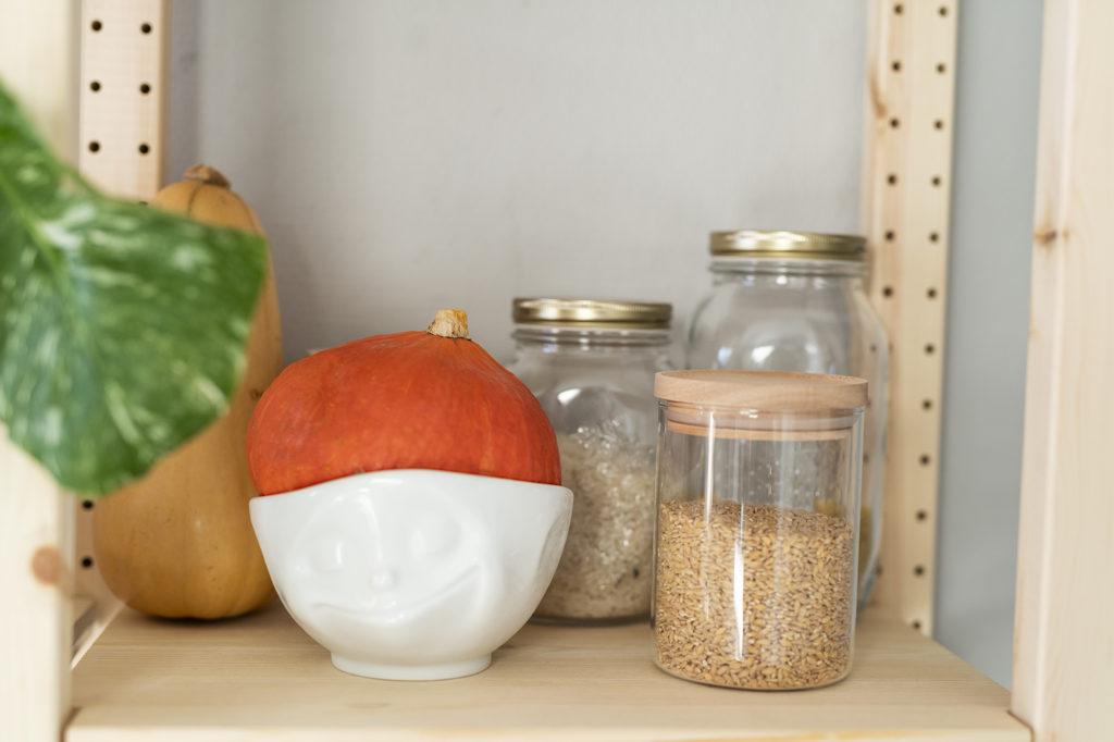 photo, zéro déchet, bocaux en verre, stocker ses graines, cuisine