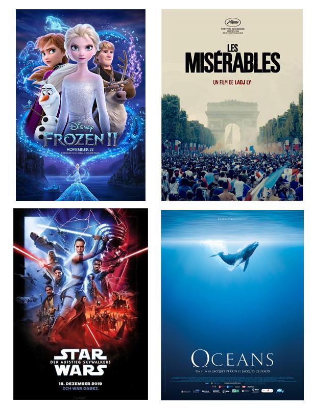 Découvertes, décembre 2019, films, affiches