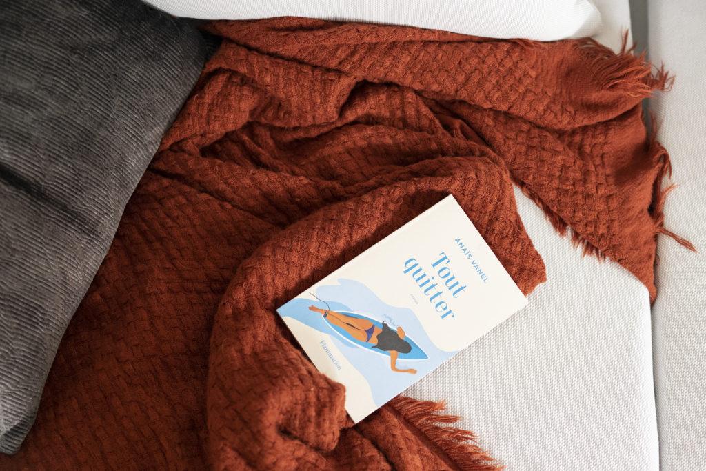 """photo, livre, Anais Vanel, """"Tout quitter"""""""