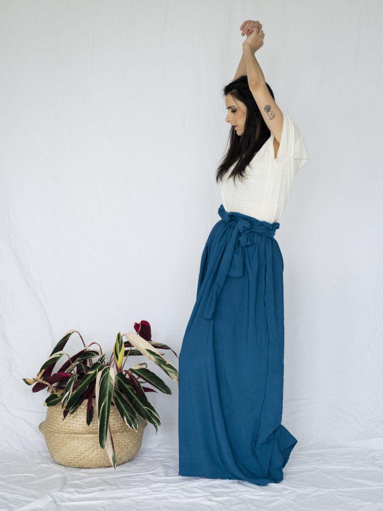 photo, jupe longue, couture, fait maison, crashtest