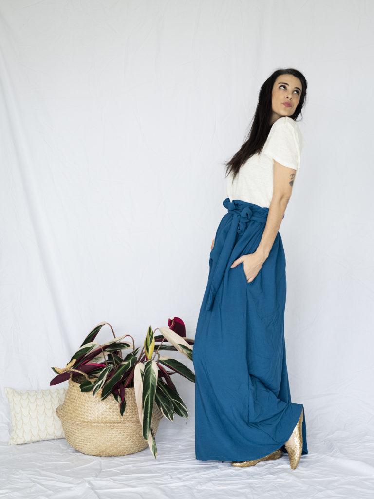 photo, jupe fluide, couture, fait maison, couture facile, couture débutant
