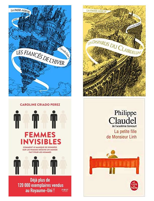 image, couvertures, livres, romans, découvertes Virginie, hiver 2020