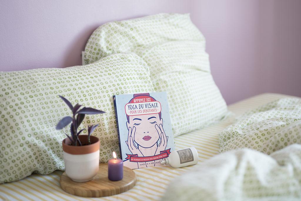Photo, livre, bien-être, le Yoga du visage pour les débutants, Nadira V Persaud, yoga facial, First Éditions