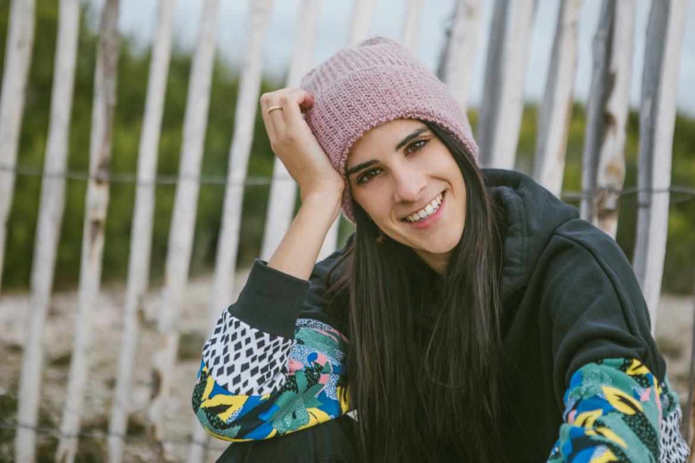 tricot, bonnet torvi, mauricette c, je tricote, tricot facile, sock yarn, bonnet mauve pale