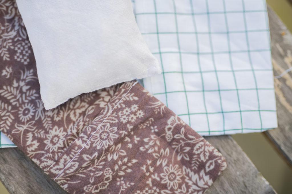 bandeau relaxant, couture débutant, bandeau de méditation, DIY, tuto, comment coudre un bandeau relaxant, noyaux de cerises, fait main