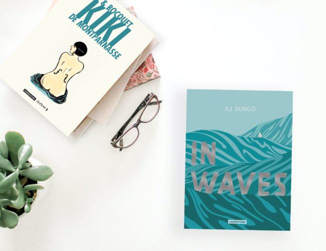Lecture : 5 BD à découvrir, bande dessinée, BD, photo, flatlay