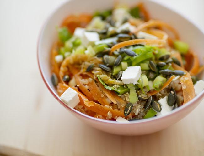 photo, recette, salade de quinoa, HelloFresh, tea and Poppies, cuisine, avis hellofresh