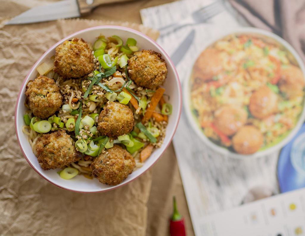 photo, recette, wok de bloulettes thai, HelloFresh, tea and Poppies, cuisine, avis hellofresh