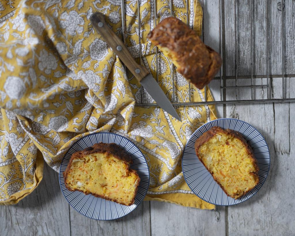 photo, cuisine, recette, cake salé, recette facile, cake carottes-chèvre